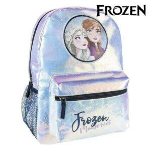 Mochila Escolar Frozen 72696 Azul claro Metalizado