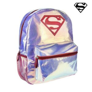 Mochila Escolar Superman Cor de rosa
