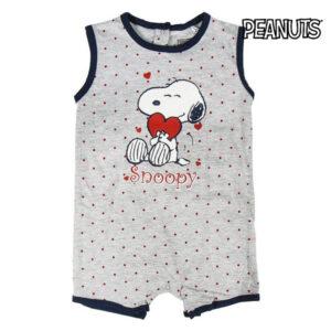 Babygrow sem Mangas para Bebé Snoopy 74585 3 Mês