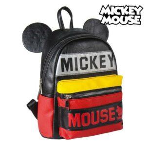 Mochila Casual Mickey Mouse 72818 Preto Vermelho Amarelo