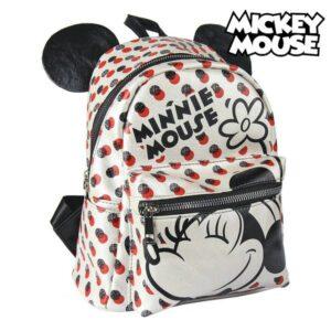 Mochila Casual Minnie Mouse 72820 Branco