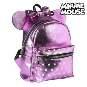 Mochila Casual Minnie Mouse 72821 Cor de rosa