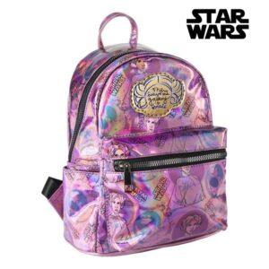 Mochila Casual Star Wars 72826 Lilás Metalizado