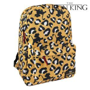 Mochila Escolar The Lion King 72831 Amarelo