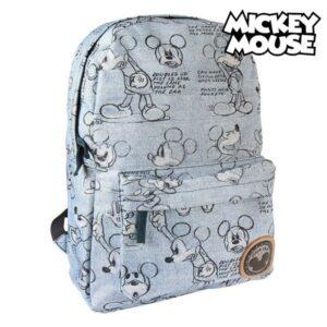 Mochila Escolar Mickey Mouse 72832 Azul