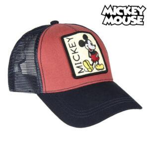 Boné Baseball Mickey Mouse 75335 Vermelho (58 Cm)