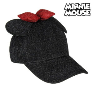 Boné Baseball Minnie Mouse 75338 Preto (56 Cm)