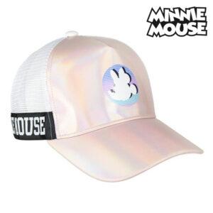 Boné Minnie Mouse 75348 Cor de rosa (56 Cm)
