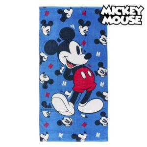 Toalha de Praia Mickey Mouse 75491 Algodão Azul marinho