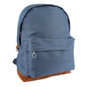 Mochila Casual Denim Patch