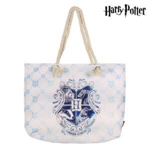 Saco de Praia Harry Potter 72925 Turquesa Algodão