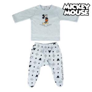 Pijama de Bebé Mickey Mouse Azul claro 0 Meses