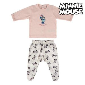 Pijama de Bebé Minnie Mouse Cor de rosa 1 Mês