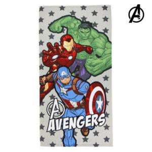 Toalha de Praia The Avengers 75683 Microfibra Cinzento