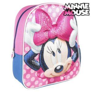 Mochila Infantil 3D Minnie Mouse