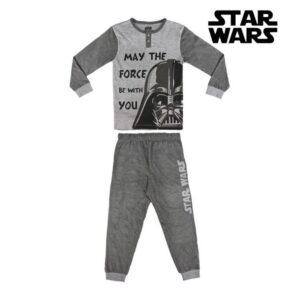 Pijama Infantil Star Wars Cinzento 10 anos