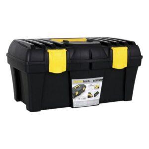 Caixa de Ferramentas Bricotech Preto Amarelo (46 X 25,7 x 22,7 cm)