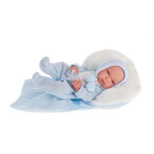 Boneco Bebé Baby Tonet Winter Antonio Juan Azul