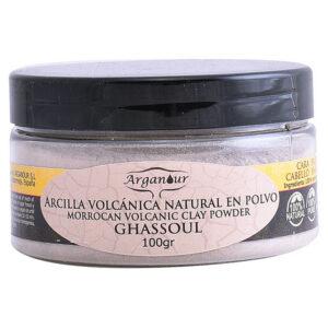 Máscara de Argila para Rosto e Cabelo Ghassoul Arganour (100 g)