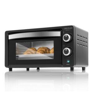 Mini forno elétrico Cecotec Bake'n Toast 1000W Preto