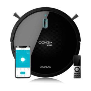 Robot Aspirador Cecotec Conga 1099 Connected 1400 Pa 64 dB WiFi Preto