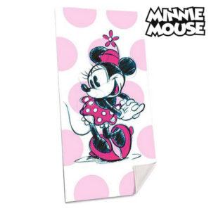 Toalha de Praia Minnie Mouse (75 x 150 cm)