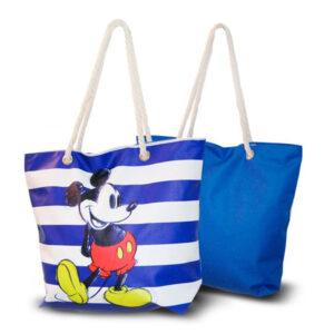 Saco de Praia Mickey Mouse Azul (33,5 x 43 cm)