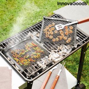 2 Sacos de rede para churrasco até 300 ºC   Bbqnet InnovaGoods