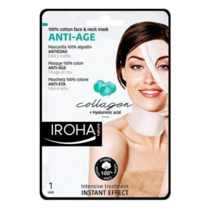 Máscara Revitalizante Anti-idade Cotton Face & Neck Iroha