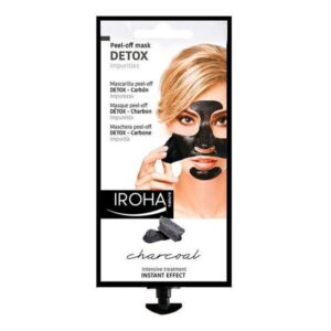 Máscara purificante Detox Charcoal Black Iroha