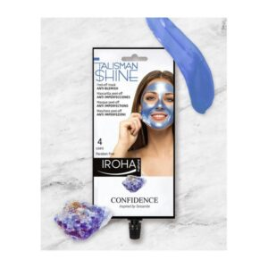 Máscara Facial Peel Off Blue Tanzanite Anti-blemish Iroha