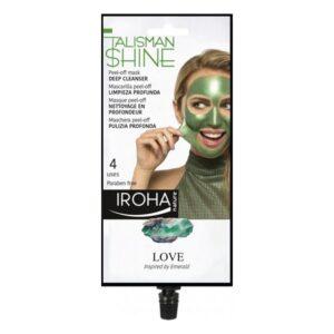 Máscara Facial Peel Off Green Emerald Deep Cleanser Iroha
