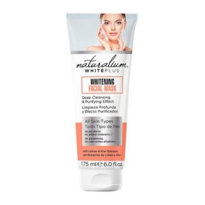 Máscara Facial White Plus Naturalium (175 ml)