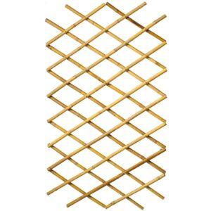 Nature Treliça de jardim 45x180 cm bambu 6040720 - PORTES GRÁTIS