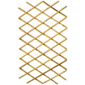 Nature Treliça de jardim 70x180 cm bambu 6040721 - PORTES GRÁTIS