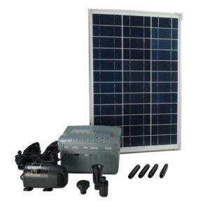 Ubbink Conjunto SolarMax 1000 com painel solar bomba e bateria 1351182 - PORTES GRÁTIS