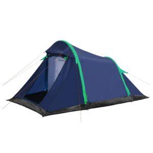 Tenda campismo vigas insufláveis 320x170x150/110 cm azul/verde - PORTES GRÁTIS