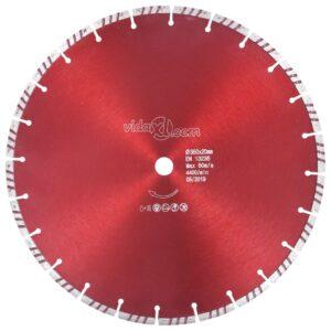 Disco de corte de diamante com aço turbo 350 mm - PORTES GRÁTIS