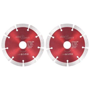 Discos de corte de diamante 2 pcs aço 125 mm - PORTES GRÁTIS