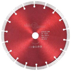 Disco de corte de diamante aço 230 mm - PORTES GRÁTIS