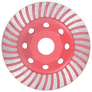 Disco de diamante com turbo 115 mm para rebarbadora - PORTES GRÁTIS