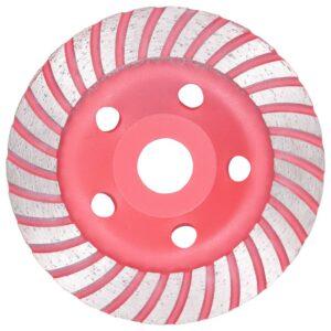 Disco de diamante com turbo 125 mm para rebarbadora - PORTES GRÁTIS