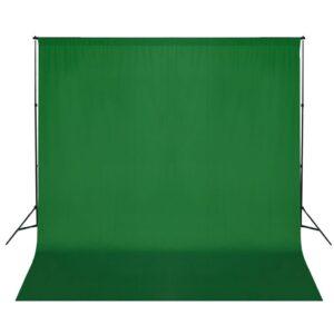 Sistema porta-fundos 600 x 300 cm verde - PORTES GRÁTIS