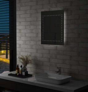 Espelho de parede LED para casa de banho 50x60 cm - PORTES GRÁTIS