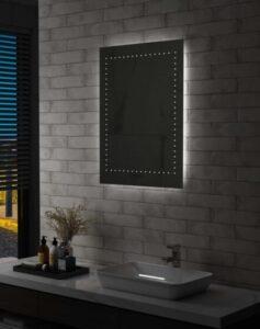 Espelho de parede LED para casa de banho 60x80 cm - PORTES GRÁTIS