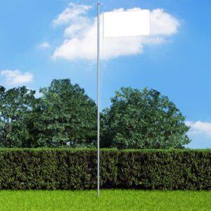 Mastro de bandeira seccional 6,2 m alumínio - PORTES GRÁTIS