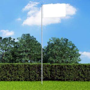 Mastro de bandeira telescópico 6 m alumínio - PORTES GRÁTIS