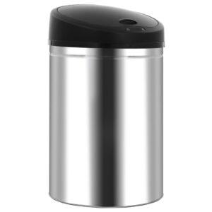 Caixote do lixo com sensor automático 32 L aço inoxidável - PORTES GRÁTIS