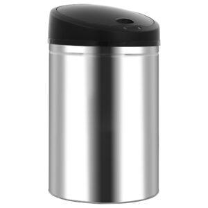 Caixote do lixo com sensor automático 42 L aço inoxidável - PORTES GRÁTIS