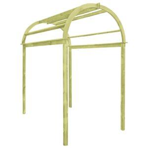 Arco em treliça 125x150x235 cm pinho impregnado - PORTES GRÁTIS